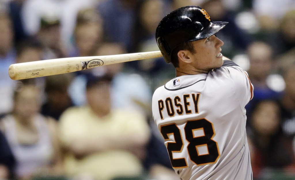 buster posey height